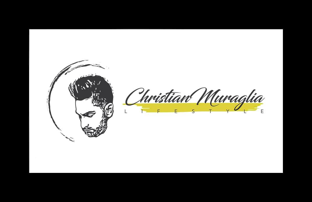"""Fashion blogger uomo """"Christian Muraglia"""" - Logo"""