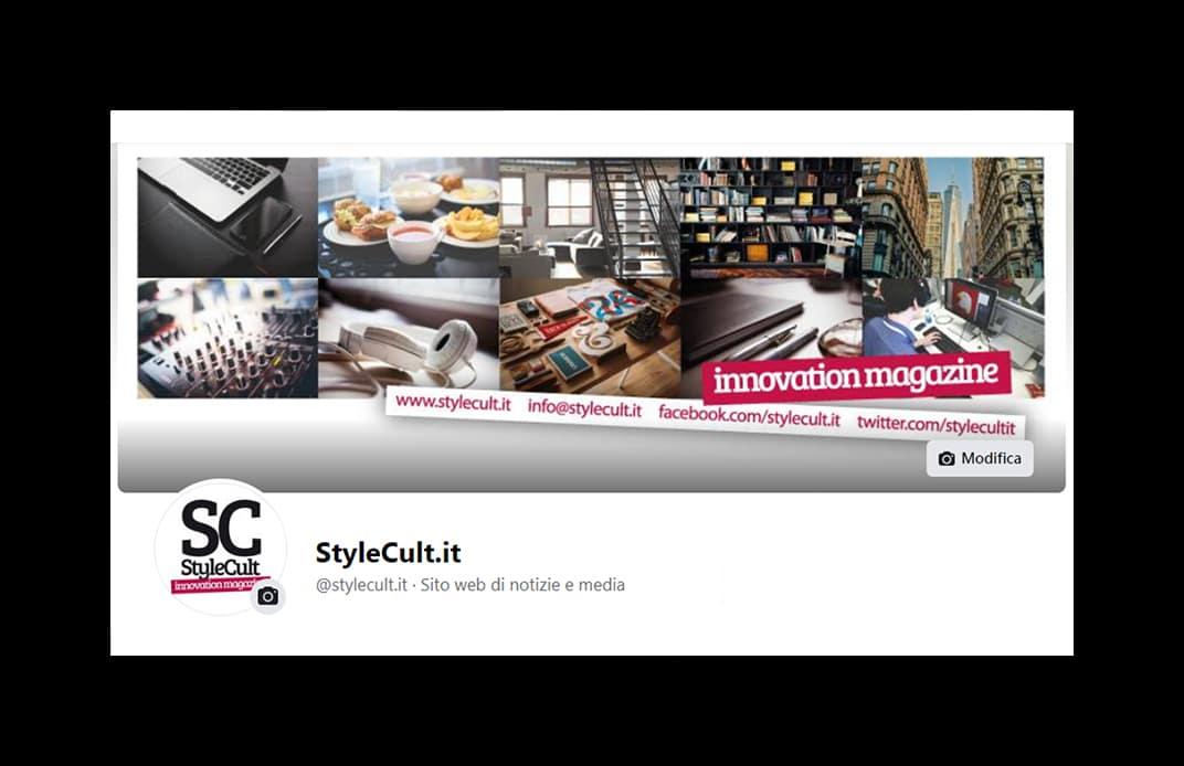 """Portfolio - Magazine online """"StyleCult"""" Facebook"""